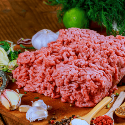 grass feed ground beef