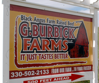 G Burbick Farms Sign